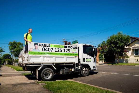 Rubbish Removal Sydney Truck